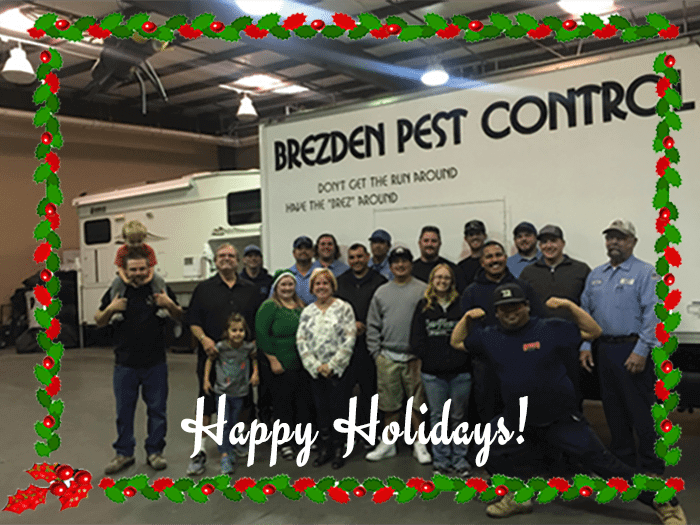 Happy Holidays From Brezden Pest Control