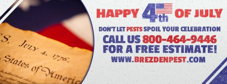 Happy 4th Of July From Brezden Pest Control